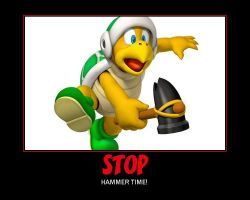 STOP, Hammer Time by AllHailWeegee