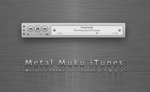 Metal Muku iTunes 9 by hotiron
