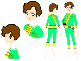 Jorge Wild Force Green Ranger (Wild Force OC) by SailorTrekkie92