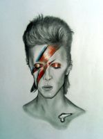 David Bowie by Pidimoro