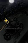celty - in the dark of night by katsumi630