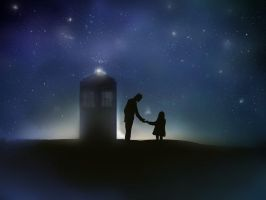 The Doctor and Amy Pond... one last adventure by lxxxh