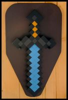 Diamond Sword - Minecraft by ArmorCorpCustoms