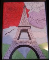 Eiffel Tower by Beauty-To-Become