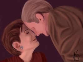 Kira Nerys and Odo by Karirae2010
