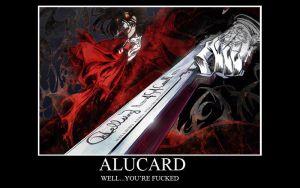 alucard motivation by daisuke-domon