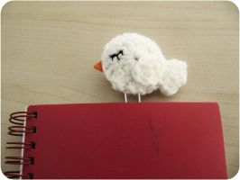 Birdy Bookmark by suzannetje87