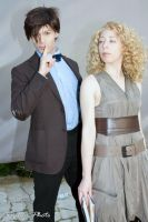 Doctor Who and River Song 1 by Kura-Kitsune