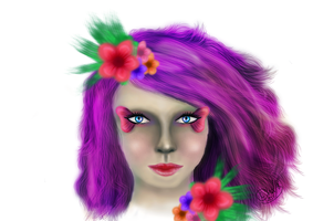 """face practice """"done"""" by Miss-Chili"""