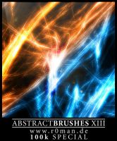 Abstract Brushes XIII by r0man-de
