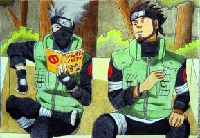 Kakashi Asuma by angelwithoutsoul89