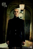 HP 6 Fan Poster: Draco Malfoy by Cute-Ruki