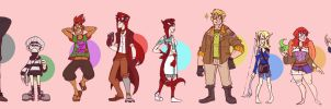 WT Line-Up by ScruffyPalmTrees