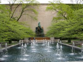 The Art Institute of Chicago by FicktionPhotography