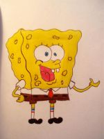 Spongebob by anczaa