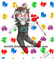 Contest Price: Terezi Pyrope by World-dreamer