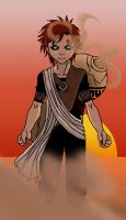 Gaara of the Desert by skelly-jelly