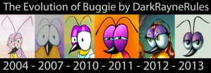 The Evolution of Buggie by DarkRayneRules