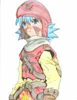 Kite- Colored by animepanfan