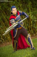 Hector from Fire Emblem by negativedreamer