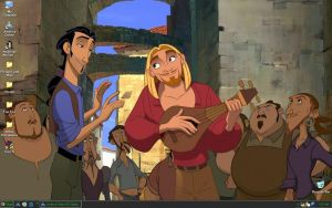 Miguel and Tulio Desktop by JanxLieanna