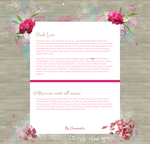 Pink Love by ginkgografix