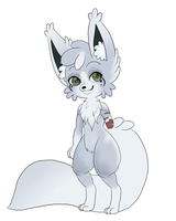 Arctic Fox: Dusty by XxSasuNaruUchihaxX