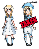 3rd Alice Batch (50 points each - OPEN) by TheYamiClaxia