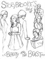 Storybrooke's Tale of Beauty and the Beast by TeddysTwin