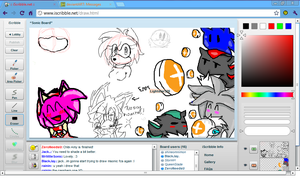 My Short Day at iScribble.net 3 by xItsElectric