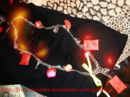 Necklace polymer clay - Collana in fimo ^_^ 3 by FrancescaBrt