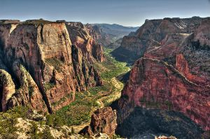Zion Canyon, Ut by Minorhero