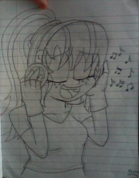 Commission: Music Lover! by Sonicfan1345