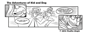 Kid And Dog - 001 by Paladin-Ciel