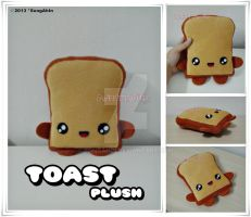 Toast Plush by SongAhIn
