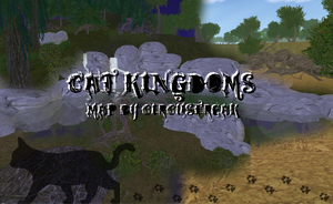 PUBLIC Warrior Cats Map - Cat Kingdoms by xXCircus-FreakXx