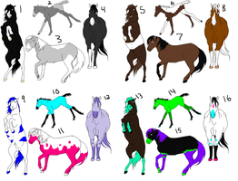 Horse Adopts by ponylover101