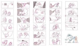 Character Design Storyboards by umetnica