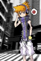 .: TWEWY- Neku :. by SonicBoom24