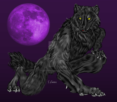 Night Beast by painteddreamsdesigns