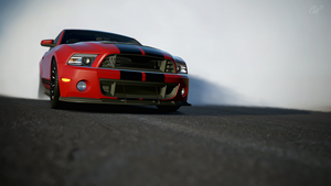 Shelby GT500 by StrayShadows
