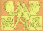 sketch page: Isao and Rio by fuanteinaa