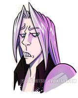 SEPHIROTH DISAPPROVES by Digimitsu