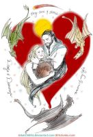 Dany and Drogo - Valentine is Coming by sketchditto