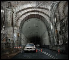 Lincoln Tunnel by pixini