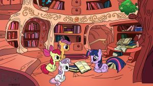 Twilight Reads to the CMC by MrQuallzin
