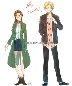 Gerderbent the Doctor and River! by oKaShira2