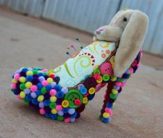 Bunny Slippers by TanyaMarieReeves