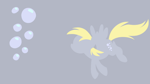 Derpy Hooves Minimalist Wallpaper by MapaFapa