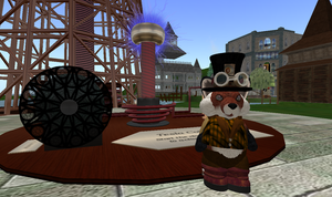 My  Avatar in Secondlife by agentraygun